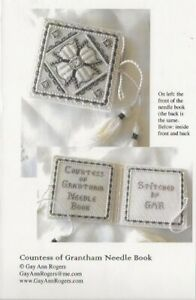 Countess of Grantham Needle Book Pattern - Gay Ann Rogers