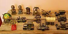 Lot Of 15 Rare Bronze Collectible Pencil Sharpeners Hong Kong Antique