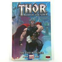 THOR - GOD OF THUNDER Volume 1: The God Butcher (Hardcover, 2013) Jason Aaron