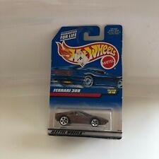 Hot Wheels Mattel Ferrari 308 Collector#816 Brown GB10