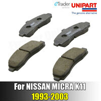 For Nissan Micra K11 1993-2003 Front Brake Pads Pad Set NEW GENUINE UNIPART