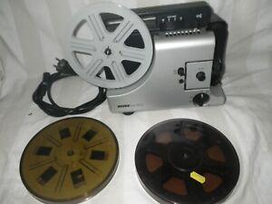 Projektor Revue Lux 30a Super 8 Normal 8 Filmprojektor S8 inkl. 3 Spulen + Film