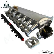 For BMW E30 M20 320i / 325i 87-91 Intake Manifold w/Throttle body Fuel Rail Kit