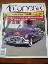 Aug 1995 Collectible Automobile Mag Humber Seagrave Flathead Studebacker Pierce