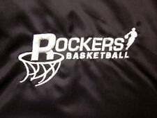 CLEVELAND ROCKERS med pullover w/ hood WNBA defunct basketball V-neck embroidery