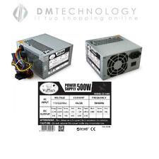 10X ALIMENTATORE 500W PC CASE ATX BTX 24 PIN VENTOLA BULK VULTECH GS-500B