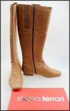 Diana Ferrari Leather Solid Boots for Women