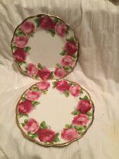 Royal Albert Old English Rose Two Side Plates