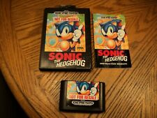 Sonic the Hedgehog (Sega Genesis, 1991) Complete