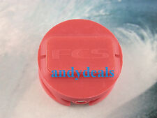 Surfboard  Leash Cup Plug Micro Stainless Steel Bar   FUTURE, GENUINE FCS RED