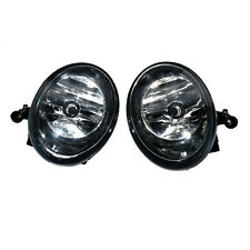 Pair Front Bumper Convex Lens Fog Lights Lamps For VW Golf Jetta MK6 Tiguan New