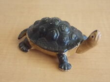 Turtle Figurine Statue Reptile Sculpted Porcelain Collectible Animal Figure
