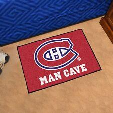 """Montreal Canadiens Man Cave 19"""" X 30"""" Starter Area Rug Floor Mat"""