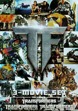Transformers Trilogy (DVD, 2011, 3-Disc Set) NEW FREE SHIPPING!!