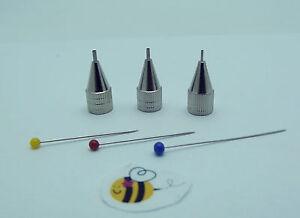 TIP SET GLASSLINE COLOR Pen Glass Paint FINE MEDIUM BOLD Fusing Supplies