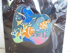 DISNEY 2005 HAPPIEST PIN CELEBRATION EVENT NEMO UNDERWATER DORY MARLIN LE 500