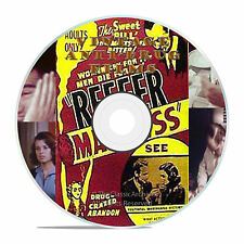 RARE ANTI DRUG MARIJUANA EDUCATION FILMS, REEFER MADNESS, ADDICTION -J03