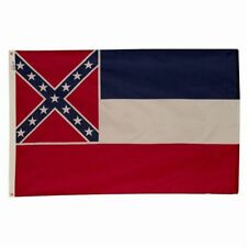 3x5 ft MISSISSIPPI OFFICIAL STATE FLAG Magnolia State OUTDOOR NYLON MADE IN USA