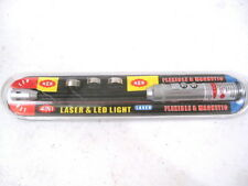 Flexible Rifle Bore Light w/Laser Pointer & Magnetic Base - FREE SHIPPING!!