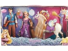 DISNEY TANGLED HAPPILY EVER AFTER PLAYSET W/ RAPUNZEL FLYNN & MAXIMUS *NEW*