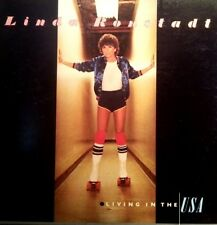 LINDA RONSTADT LP LIVING IN THE USA 1978 GATEFOLD COVER