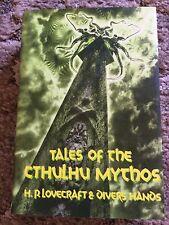 TALES OF THE CTHULHU MYTHOS Lovecraft etc HC ARKHAM HOUSE 1st ed/2nd printing