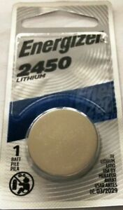 Box of 72 Energizer CR2450 Lithium 3V Coin Cell  Blister Pack Batteries Exp 3/29
