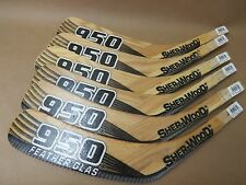 Lot of 6 SHERWOOD 950 Feather Glas Spezza Hockey Blade Replacements JR LEFT