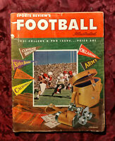 RARE Sports Reviews FOOTBALL magazine 1951 College Pro