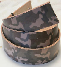 """Tandy Leather 4535-25 Camouflage Cowhide Strips 2"""" x 50"""" Belt Blank"""