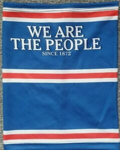 RANGERS SNOOD / FACEMASK We Are The People loyalist