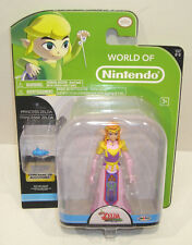 World of Nintendo PRINCESS ZELDA Action Figure SEALED Jakks 2-2 In Stock WON