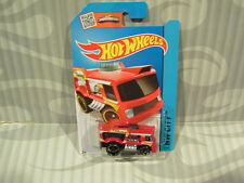 "2015 HOT WHEELS ''HW CITY"" #6 = CHILL MILL  = RED  int."