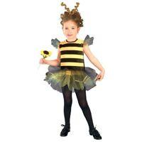 Bumble Bee Honey Girls Kids Toddler Child Book Week Fancy Dress Costume Age 3-8