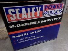 Sealey ML1/BP 6 Volt / 4.5 Ah Battery Pack in box for a Hand Lamp