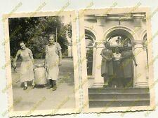 2x Foto, weiblicher Arbeitsdienst dt. Züllichau Sulechów Polen, f (W)1892