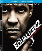The Equalizer 2 [New Blu-ray] With DVD, 2 Pack, Digital Copy