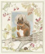Wildlife - Red Squirrel - Counted Cross stitch Kit by Bothy Threads / Derwentwat