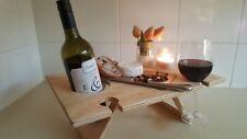 Portable wine/grazing table