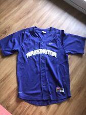 Nike Team Game Worn University Of Washington Baseball Jersey Mens Small Purple