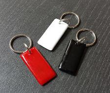 3 x NFC Tag mit MIFARE Classic® Chip - Schlüsselanhänger schwarz rot weiss - 1k