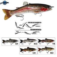 """Leurre poisson nageur Live Real Trout 7"""" 175S 17,5cm 65gr pêche brochet sandre"""