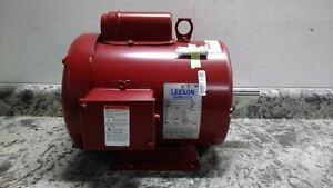 Leeson 131541.00 2 HP 1740 RPM 115/208-230VAC High Torque Farm Duty Motor
