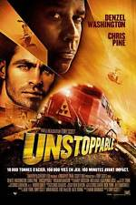 UNSTOPPABLE Movie POSTER 27x40 Swiss D