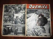 """FOTOROMANZO """"DUEMILA"""" SETTIMANALE DI AVVENTURE NUMERO 30 DEL 29 LUGLIO 1951"""