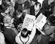 "German Bombs Rain On Warsaw Newspaper 8""x 10"" World War II WW2 Photo 531"