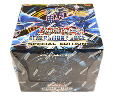Yu-gi-oh! Yugioh Generation Force Factory Sealed ENG Special Edition Display Box