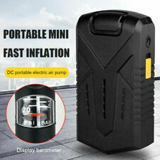 Air Compressor Mini Inflator Electric Pump for Car Bike Tires USB Rechargeable