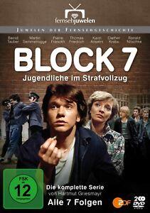 Block 7 - Jugendliche im Strafvollzug (1976) - ZDF-Serie (Fernsehjuwelen) [DVD]