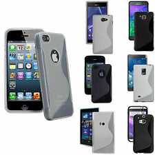 New Stylish Ultra Thin Silicone S Line Gel Strong Matte Case Cover Rugged Sline